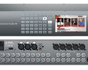 Blackmagic ATEM 2 M/E Production Studio 4K Live Production Switcher