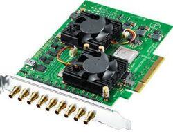Blackmagic Decklink Quad 2 PCI Express Capture and Playback card