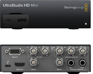 Blackmagic UltraStudio HD Mini Portable Thunderbolt 3 Capture and Playback Solution