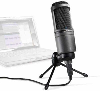 Audio-Technica AT2020 USB+ USB Cardioid Condenser Microphone
