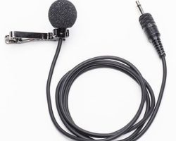 Azden EX-503L Omni-Directional Lapel Microphone with Lock-Down Mini-Jack Output