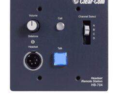 Clear-Com HB-704 4-Channel Flush-Mount