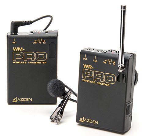 Azden WLX-PRO VHF Wireless Microphone System