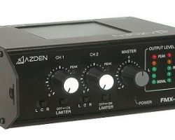 Azden FMX-22 2-Channel Portable Microphone Mixer