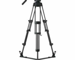 Libec RS-450D 2-Stage Tripod System with Floor Spreader