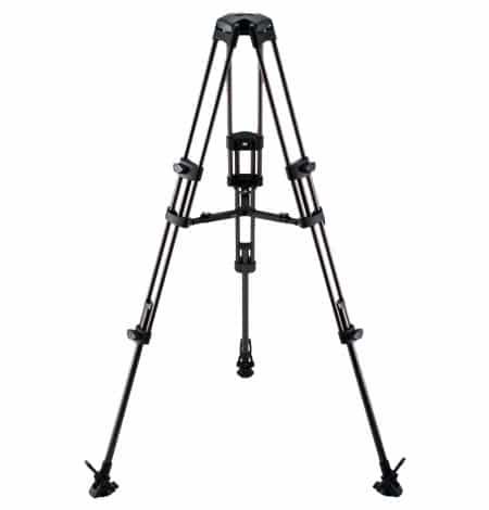 Libec Rt 50b 2 Stage Aluminum Tripod on studio microphone