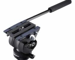 Libec TH-X H Dual Head Compatible with 65mm bowl tripods