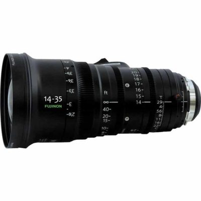 Fujinon ZK2.5x14 14-35mm T2.9 Light Weight Wide-Angle Zoom Lens
