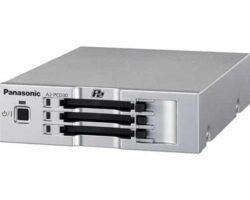 Panasonic AJ-PCD30E Three-Slot P2 Solid-State Memory Drive