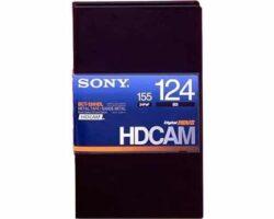 Sony BCT-124HDL HDCAM Large 124min Tape