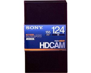 Sony BCT-124HDL HDCAM Large 124min Tape