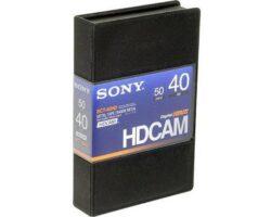 Sony BCT-40HD HDCAM Small 40min Tape