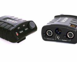 Video Solutions BK-101 Single channel Electret button belt pack
