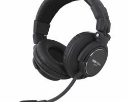 Datavideo HP-2A Dual Side Noise cancelling Headset with 3.5mm Jack