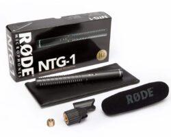 RODE NTG1 Lightweight Condenser Shotgun Microphone with Supercardiod polar pattern