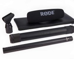 RODE NTG3 RF-Bias Shotgun Microphone Designed to withstand adverse environmental conditions