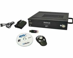 Autocue QMaster and QBox with ShuttlePro Hand Control