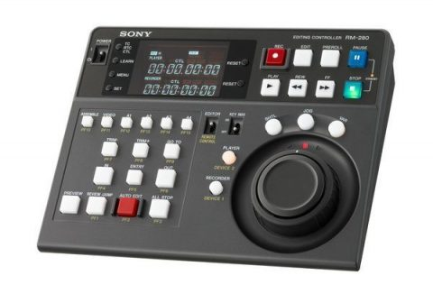 Sony RM-280 Editing Controller For Enhanced Field Operations