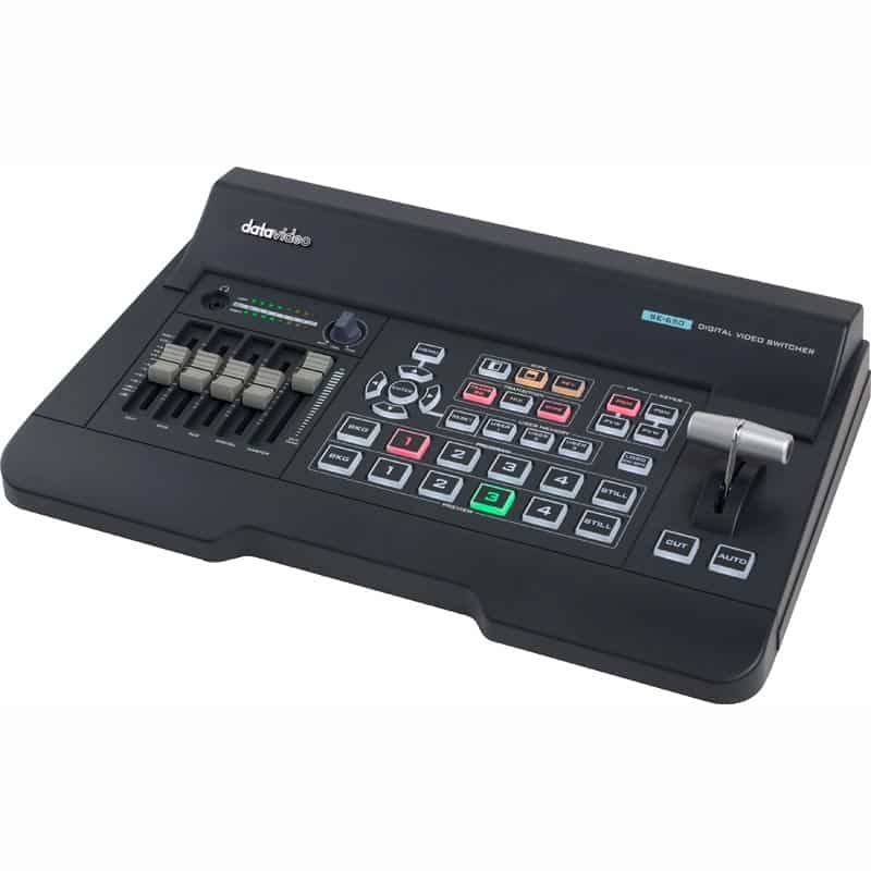 DataVideo SE-650 4 Input HD digital video switcher Frame Sync on ...