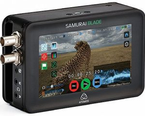 Atomos Samurai Blade Camera-mounted Recorder, Monitor