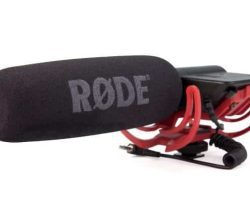 Rode VideoMic with Rycote Lyre Suspension System with Rugged reinforced ABS construction