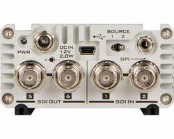 Datavideo VP-597 2x6 3G HD/SD-SDI Distribution Amplifier Supports embedded Audio SDI