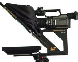 Video Solutions VSS-19L Teleprompter designed for small-form video and DSLR cameras