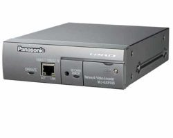 Panasonic WJ-GXE500 4-Channel H.264 Real-Time Network Video Encoder