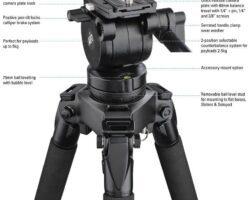 Miller 1042 Air Fluid Head Lightweight, Broadcast travel companion