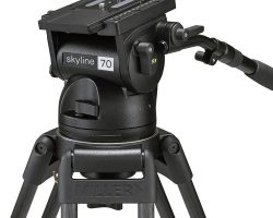 Miller 1050 Skyline 70 Fluid Head Payloads from 4.5 to 37.5 kg