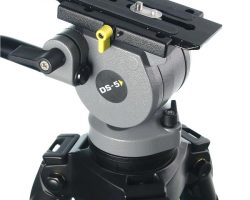 Miller 180 DS5 Fluid Head 75mm Ball Leveling with Bubble Level