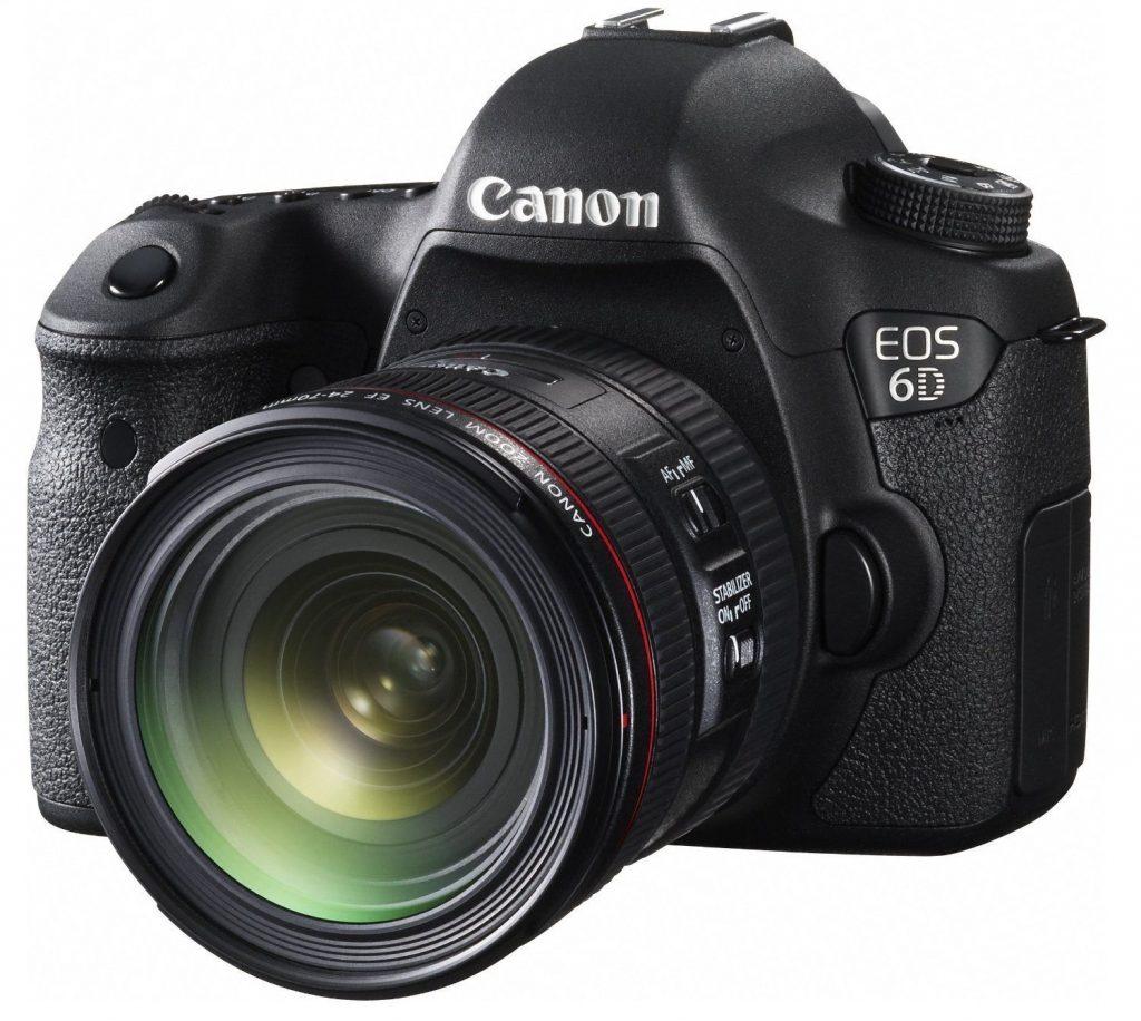 Canon EOS 6D Kit II (EF 24-70 IS USM) Full-frame DSLR Camera