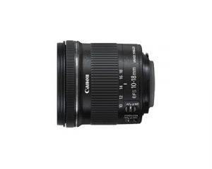 Canon EF-S10-18mm f/4.5-5.6 IS STM super wide-angle zoom lens