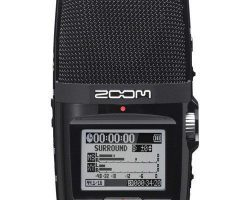Zoom H2n Handy Recorder with Five built-in microphones