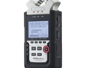Zoom H4n Pro Handy Recorder for onboard X/Y microphones