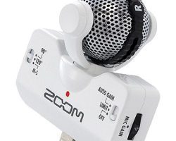 Zoom iQ5 Mid side Stereo Microphone For iOS devices