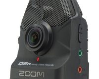 Zoom Q2n Handy Video Camera with High-quality 160° wide-angle lens