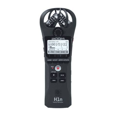 Zoom H1n Stereo X/Y Recorder