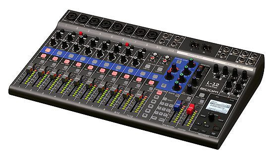 Zoom LiveTrak L-12 Digital Mixer and Multi-track Recorder