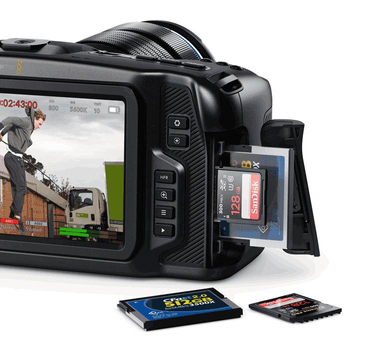 Blackmagic Pocket Cinema Camera 4K Digital Film Camera - Singapore