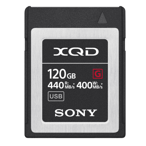 Sony QD-G120F (120GB) XQD G Series Memory Card