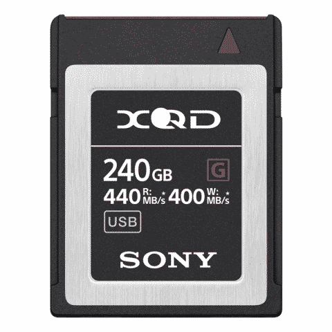 Sony QD-G240F (240GB) XQD G Series Memory Card