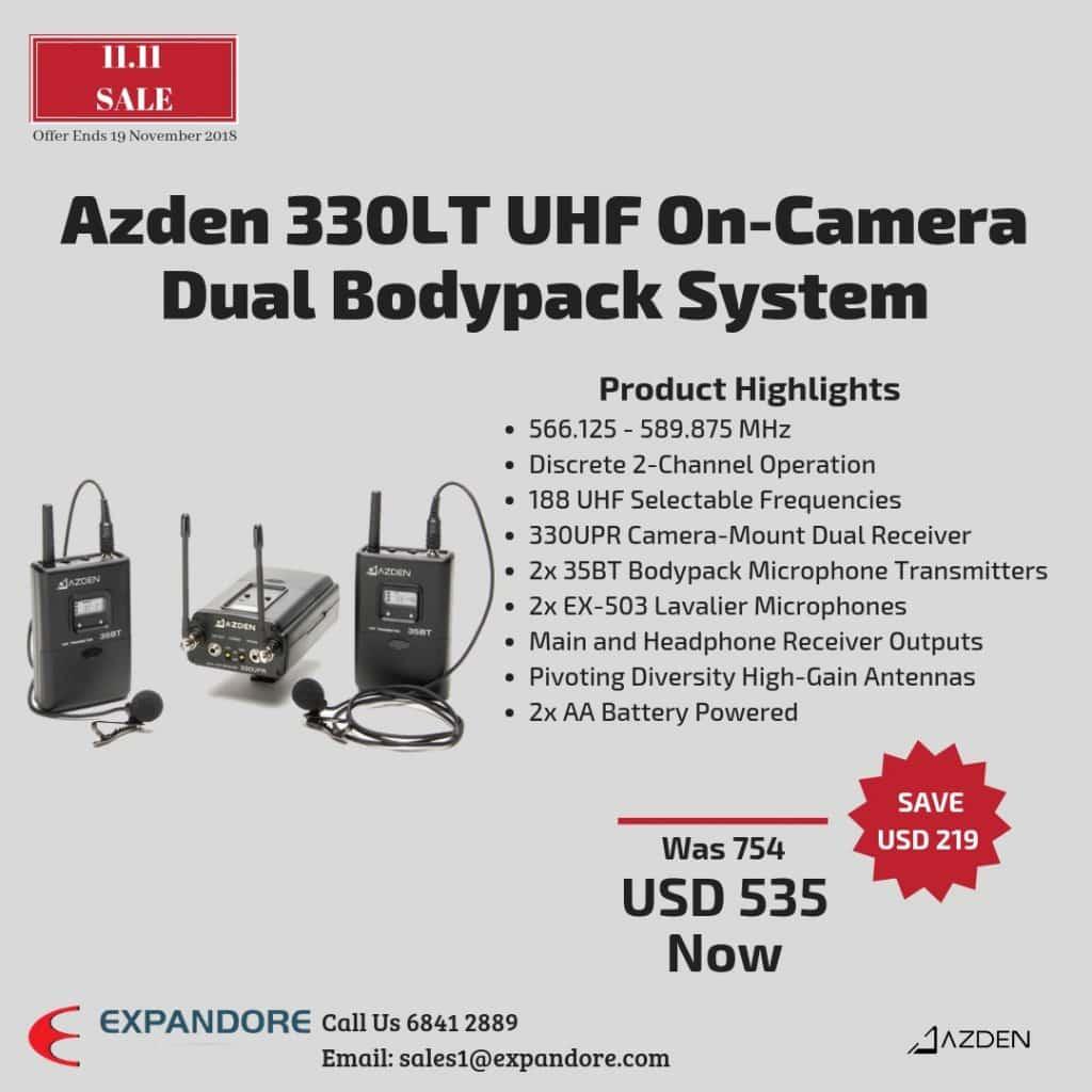 Azden 330LT