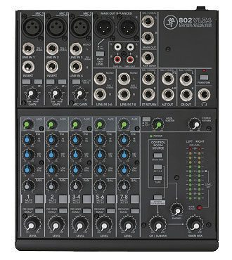 Mackie 802VLZ4 8-Ch Mixer