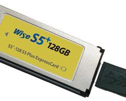 Wise 128GB S5+ ExpressCard