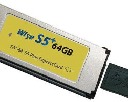 Wise S5+-64 64GB S5+ ExpressCard