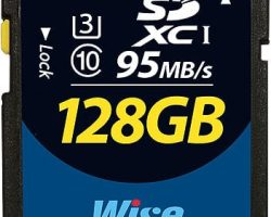 Wise 128GB SDXC™ UHS-I Memory Card