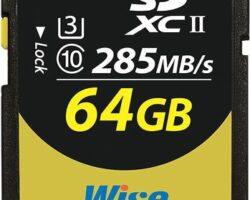 Wise 64GB SDXC™ UHS-II Memory Card