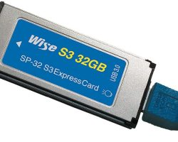 Wise 32GB S3 ExpressCard®