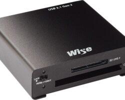 Wise CSD2 Combo Card Reader - USB 3.1 Gen2